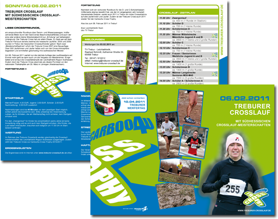 Treburer Crosslauf - Flyer